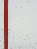 Tableros de la pista de hockey sobre hielo Foto de archivo