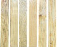 Tableros de madera Fotografía de archivo libre de regalías