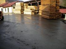 Tableros de madera de la haya fotos de archivo