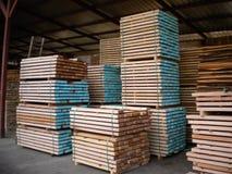 Tableros de madera de la haya foto de archivo