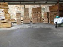 Tableros de madera de la haya imagen de archivo libre de regalías