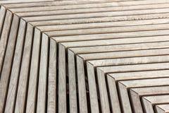 Tableros de madera periódicamente perpendicular y paralelo grises imagen de archivo libre de regalías