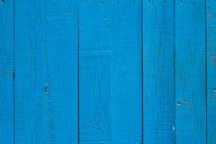 Tableros de madera pintados recientemente Imagen de archivo