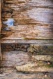 Tableros de madera rústicos fotos de archivo