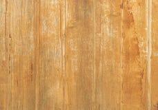Tableros de madera rústicos en marrón claro Imágenes de archivo libres de regalías