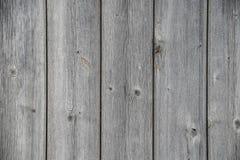 Tableros de madera resistidos, gris y agrietado Imagen de archivo libre de regalías