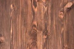 Tableros de piso de madera reclamados apenados para el uso como backg de la página Imagen de archivo libre de regalías