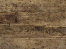 Tableros del top marrón de la sobremesa Foto de archivo