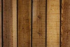 Tableros verticales, textura de madera, fondo Foto de archivo