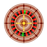 Tables, American  Roulette. Vector illustration Royalty Free Stock Image