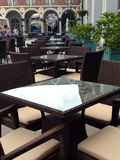 Tables in cafe Royalty Free Stock Photography