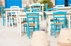 Tables & Chairs Royalty Free Stock Photo