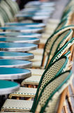 Tables and chairs Stock Photos