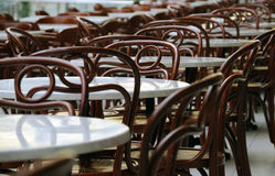 tables and chairs Royalty Free Stock Photography