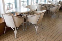 Tables de café Photos libres de droits