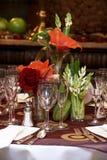 Tables de mariage photos stock