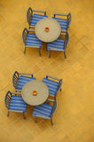 Tables From Above Stock Images