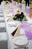 Tables for graduations Royalty Free Stock Image