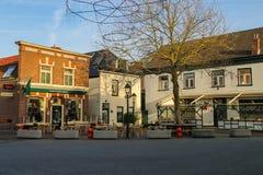 Tables outdoor restaurant Eeterij Het Kleine Brughuis Stock Photos