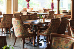 Tables restaurant Royalty Free Stock Photography
