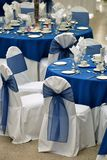 Tables setting Royalty Free Stock Photography
