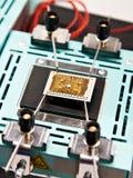 Tables thermo pour les puces électroniques images libres de droits