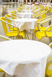 Tables in Venice Royalty Free Stock Images