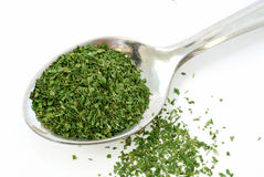 Tablespoon dried parsley Stock Images