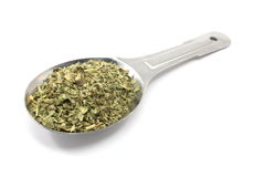 Tablespoon of Italian Seasoning Stock Photo