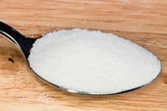 Tablespoon salt Royalty Free Stock Photography