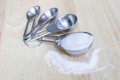 Tablesspoon сахара стоковая фотография