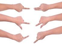 Движение руки ПК таблетки Стоковые Изображения RF