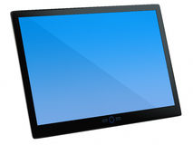 Tablet. Pc on white background Stock Illustration