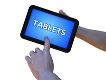 Tablet Royalty-vrije Stock Afbeelding