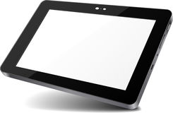 Tablet. Clear Abstract Tablet design sample Stock Images