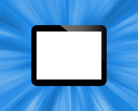 Tablet. Abstract tablet with colored icons for designers for various necessities Stock Photo