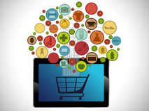 Tablet Lizenzfreie Stockbilder
