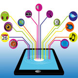 Tablet vector illustratie