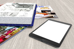 Tablet Stock Foto