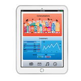 tablet Immagini Stock Libere da Diritti