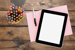 tablet Royalty-vrije Stock Afbeeldingen