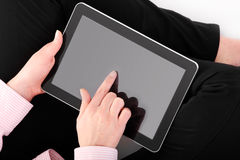 Tablet ad Royalty Free Stock Photography