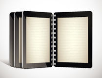 Tablet as electronic book Royalty Free Stock Photos