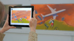Tablet augmented reality app