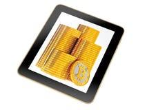 Tablet - Bitcoin Stock Photos