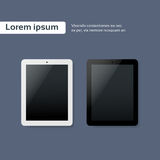 Tablet Blank Screen Computer Digital Device Icon Stock Image