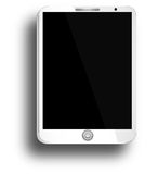 Tablet with Blank Screen Stock Image