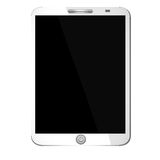 Tablet with Blank Screen Stock Images