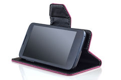 Tablet with case Royalty Free Stock Photography