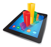 Tablet Chart Royalty Free Stock Image